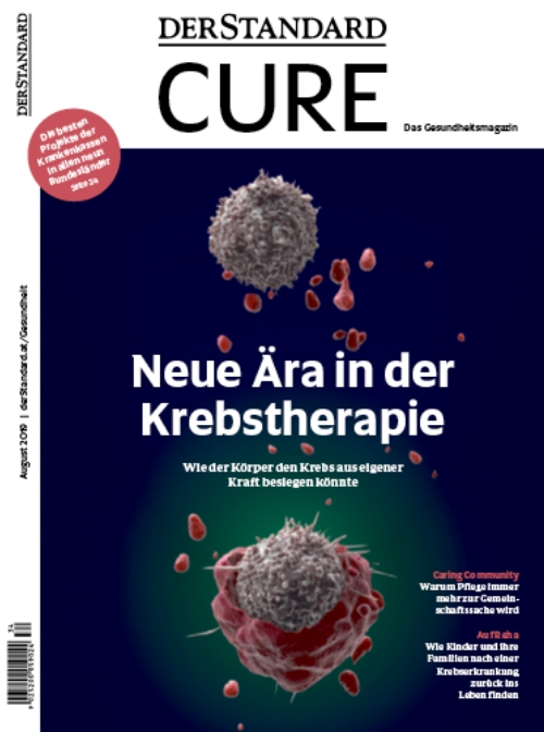 Magazin Cover Cure August 2019